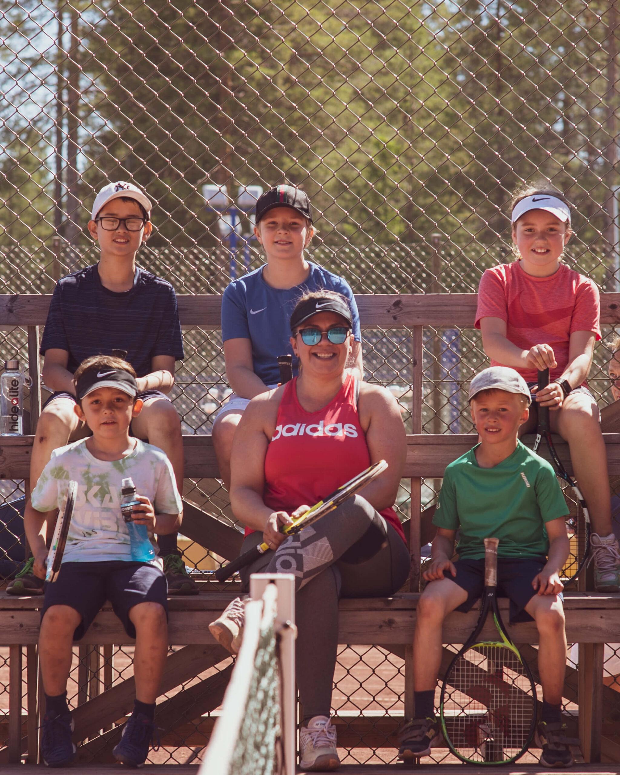 Missa inte sommarens tennisskola!